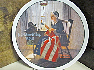 Rockwell Limited Edition Plate A Mother's Pride