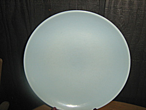 Russel Wright Iroquois Casual Blue Dinner Plate