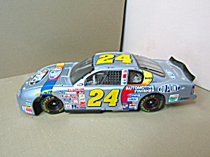 Jeff Gordon Dupont Nascar 2000 Model Gray Racing Car
