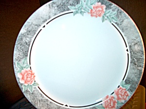Corelle Silk And Roses Bread Plate