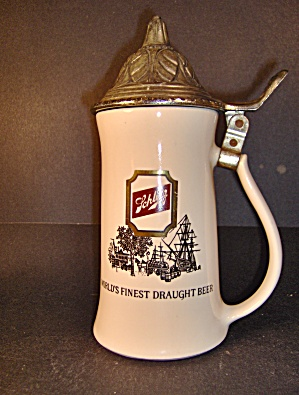 Mccoy Schlitz Stein World's Finest Draught Beer