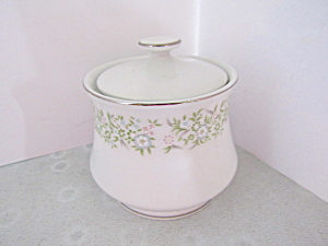 Taihei Fine China Springtime Covered Sugar Bowl