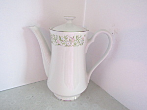 Taihei Fine China Springtime Covered Coffee Pot