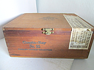 Vintage Cuesta Ray No 95 Cigar Box