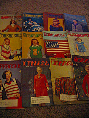 The Workbasket Year 1974 Set In Box