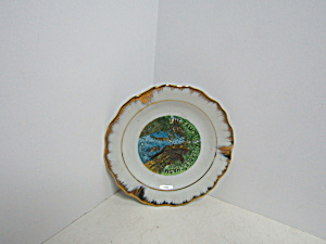 Vintage The Famous Ausable Chasm Small Ashtray
