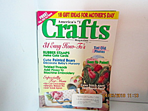 Vintage Crafts America's No.1 Craft Magazine May 1997