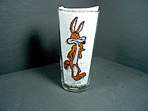 Vintage Pepsi Looney Toons Glass Wile E. Coyote