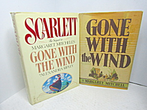Vintage Favorite Book Gone With The Wind & Scarlett