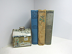 Collectable Decorative Book Set 2 Gene Stratton Porter