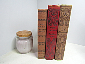 Kathleen Norris Books Set 5 Collectable Decorative