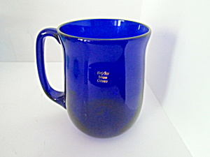 Vintage Bristol Blue Glass Mug
