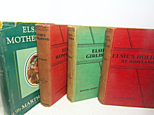 Vintage Book Set By Martha Finley