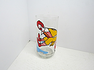 Collectible Glass Mcdonaldland Series Ronald Mcdonald