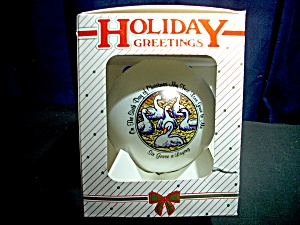 Sixth Day Of Christmas Holiday Greetings Ornament