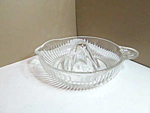 Vintage Large Lined Citrus Reamer Juicer