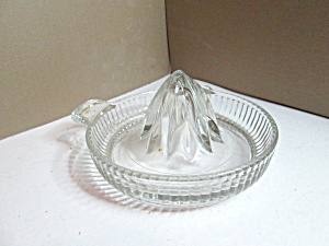 Vintage Medium Lined Citrus Reamer Juicer
