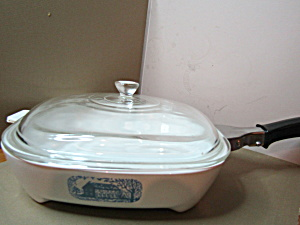 Vintage Browning Covered Skillet Amana Radarange