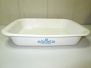 Vintage Corning Cornflower Blue Roaster/lasagna Pan