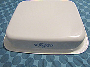 Vintage Corning Ware Eight Inch Cornflower Bluecake Pan