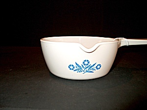 Vintage Corning Ware Cornflower Blue Pour Spout Pan