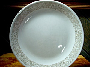 Vintage Corelle Woodland Brown Dinner Plate