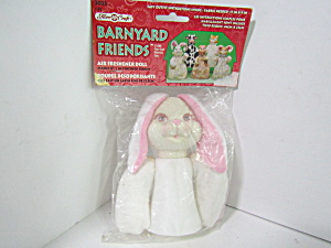 Fibrecraft Barnyard Friends Air Freshnerer Bunny Doll
