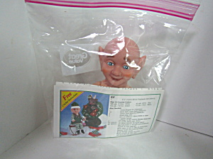 Fibre-craft Air Freshener Doll Elf #3419