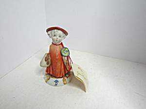 Vintage Porcelain Children Of Capodimonte Figurine #6