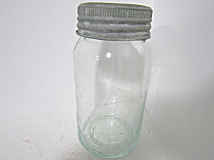 Vintage Crown Mason Quart Canning Jar