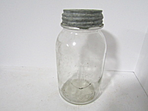 Vintage Anchor Hocking Mason Quart Canning Jar