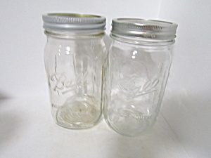Vintage Ball Widemouth Mason Quart Canning Jar
