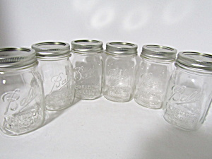 Vintage Ball Perfect Mason Pint Fruit Jars