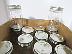 Vintage Ball Mason Gripper Strip Pint Canning Jars