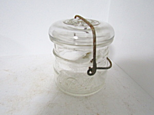 Vintage Ball Half-pint Ideal Bail Fruit Jar