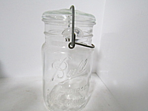 Vintage Ball Eclipse Bail Quart Fruit Jar