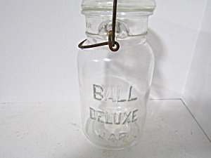 Vintage Ball Deluxe Bail Quart Fruit Jar