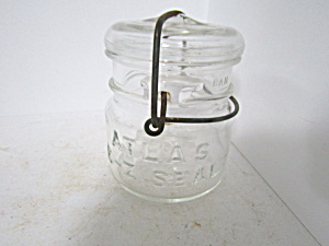 Vintage Atlas E-z Seal Bail Half-pint Fruit Jar