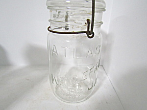 Vintage Atlas Wholefruit Jar Bail Quart Fruit Jar