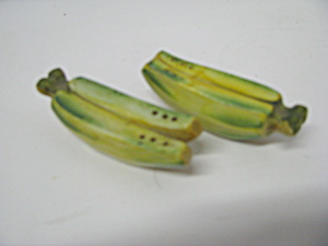 Vintage Banana Salt & Pepper Shaker Set