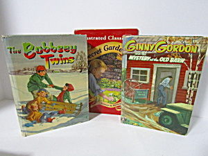 Vintage Young Readers Adventure Stories