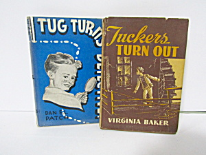 Books Tuckers Turn Out & Tug Turns Detective