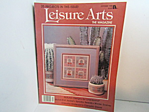 Vintage Leisure Arts The Magazine October 1988