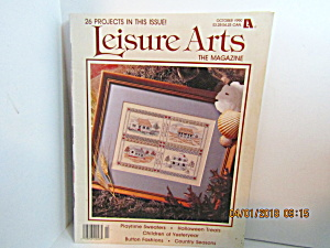 Vintage Leisure Arts The Magazine October 1990