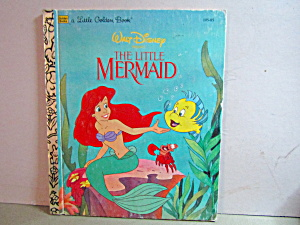 A Little Golden Book Disney's The Little Mermaid