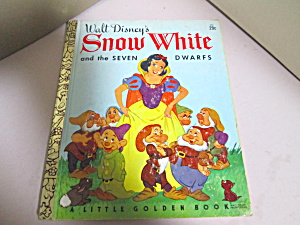 Little Golden Disney's Snow White And The Seven Dwarfs