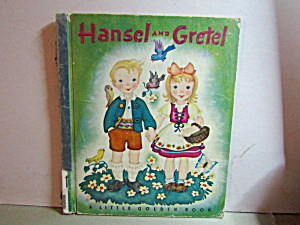Little Golden Book Vintage, Hansel And Gretel