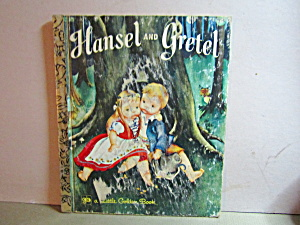 Vintage Little Golden Book Hansel And Gretel