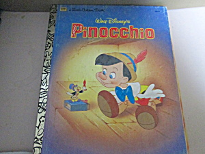Little Golden Book Walt Disney's Pinocchio