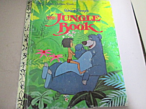 Little Golden Book Disney's The Jungle Book
